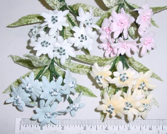 Edelweiss by 6 floral trim perfect for bridal bouquet or flower girl edelweiss by 6 floral trim perfect for bridal bouquet or flower girl dress mightylinksfo